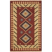 Found it at Wayfair - JiJum Maroon Rug
