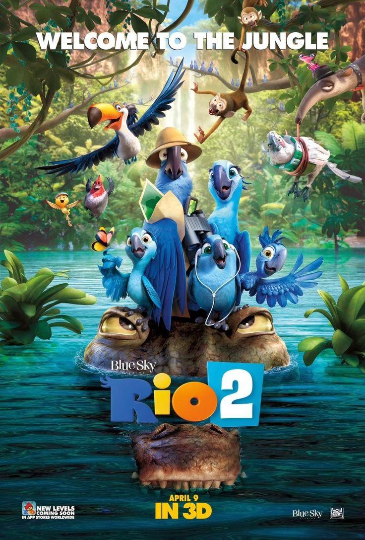 """Na verdade deveria ser Amazônia o nome do filme, já que ele se passa quase todo por lá. Mas a diversão das araras continua sendo garantida. Vale muito a pena assistia a """"Rio 2""""."""