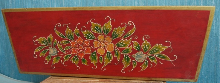 Bloembak beschilderd 65022. | Vazen en bloempotten. | Punjabbazaar
