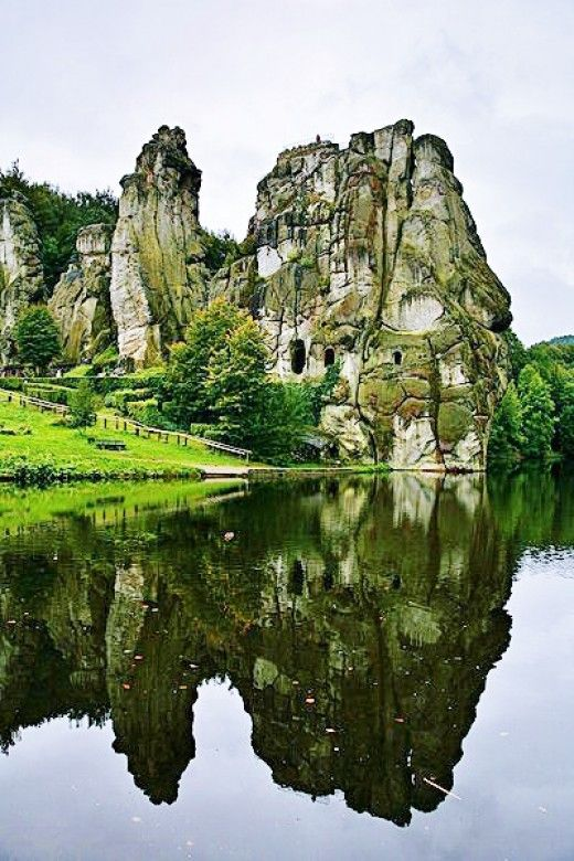 Externsteine: Germany