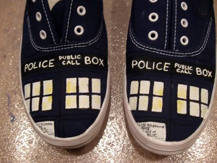 doctor who shoes ( I want!)