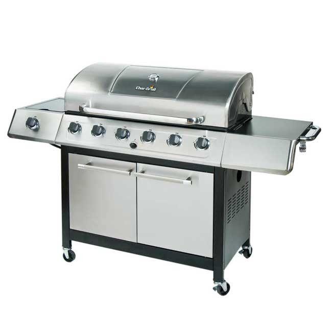 charbroil 6 burner grill