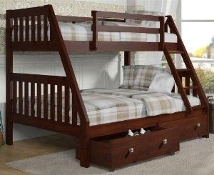 !$ 61 in. Twin Over Full Bunk Bed Boys Bunk Beds - Blu Dot Dodu King Bed by chaugiang
