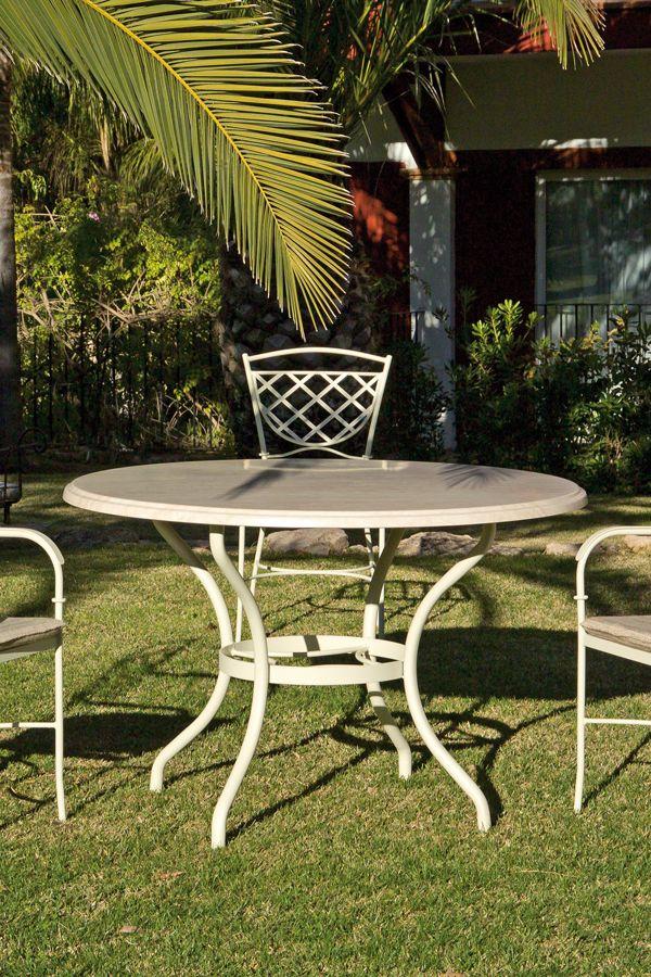 Mesa Para Jardin Con Sillas Del Mismo Estilo Disfruta De Una