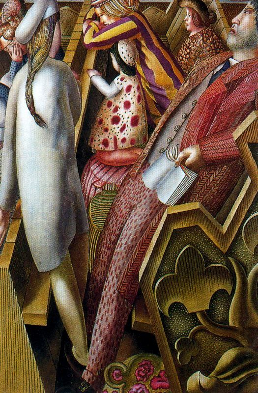 Stanley Spencer - In Church
