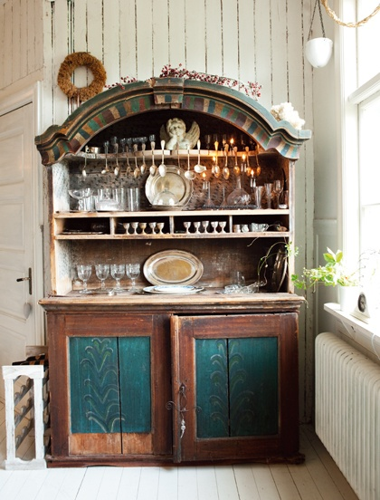 Marvelous old hutch