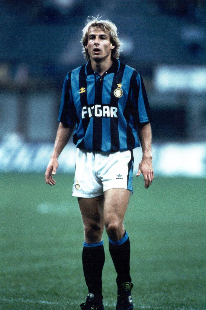 Jürgen Klinsmann en el Inter de Milan 1991/92.