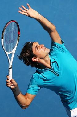 Roger Federer - Australian Open 15 Jan, 2013