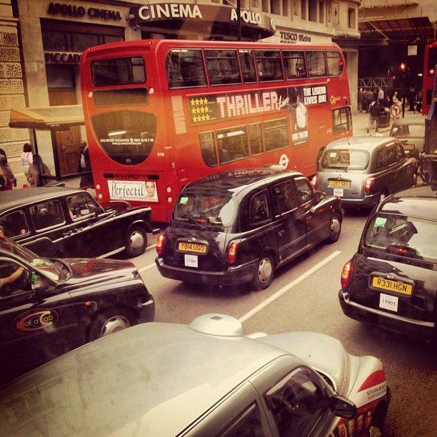 Stuck in traffic... London   Marius Barbulescu