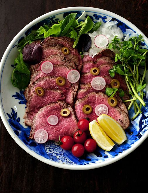 Japanese-style roast beef, ideal for summer and no oven required