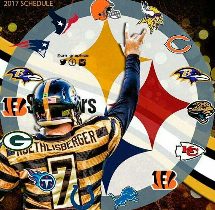 2017 Steelers Schedule