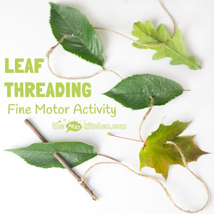 All Natural Leaf Threading