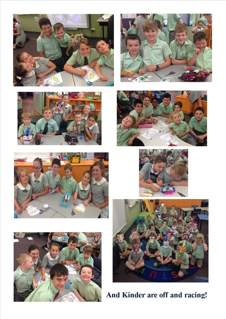 Kinder had so much fun with their buddies making race horse masks for Melbourne Cup Day! Dont we look amazing!