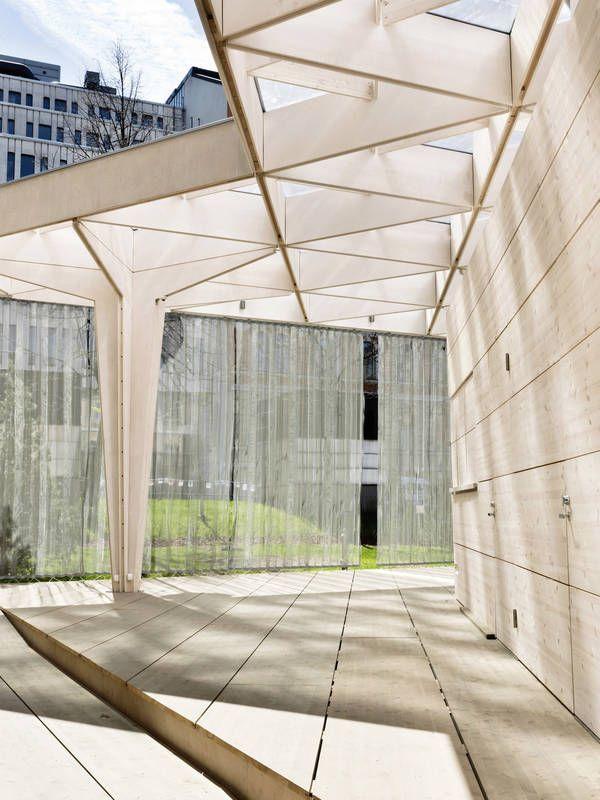 Galerie der Weltdesignhauptstadt Helsinki 2012 Pavillon / Aalto University Wood Studio – 4 – #Aalto #Der #Galerie #Helsinki #pavilion