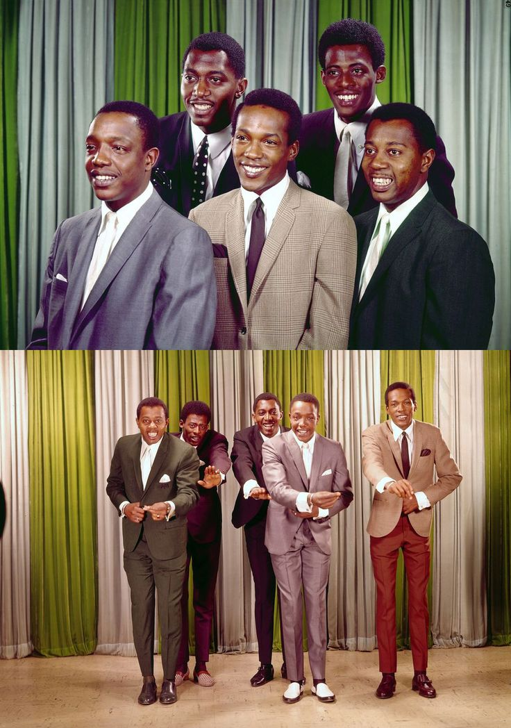 "c.1964 The Temptations | The ""Classic 5"" Lineup"