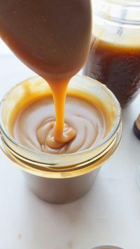 Recetas imprescindibles II: Cómo hacer la salsa butterscotch o salsa de toffee salado más fácil del mundo | Cocinar en casa es facilisimo.com