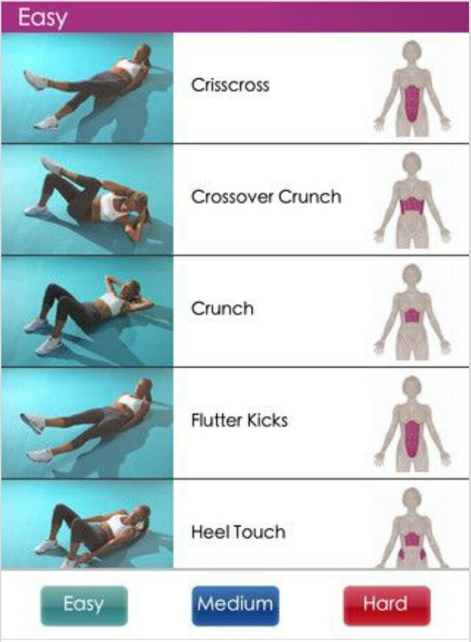 Great tummy exercises