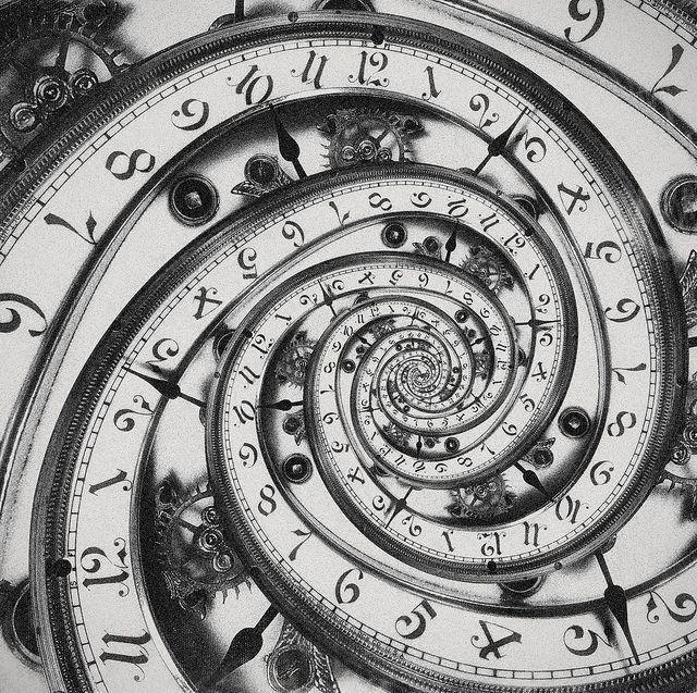 Time neverending…(Droste Effect) by Alex Teuscher on Flickr.