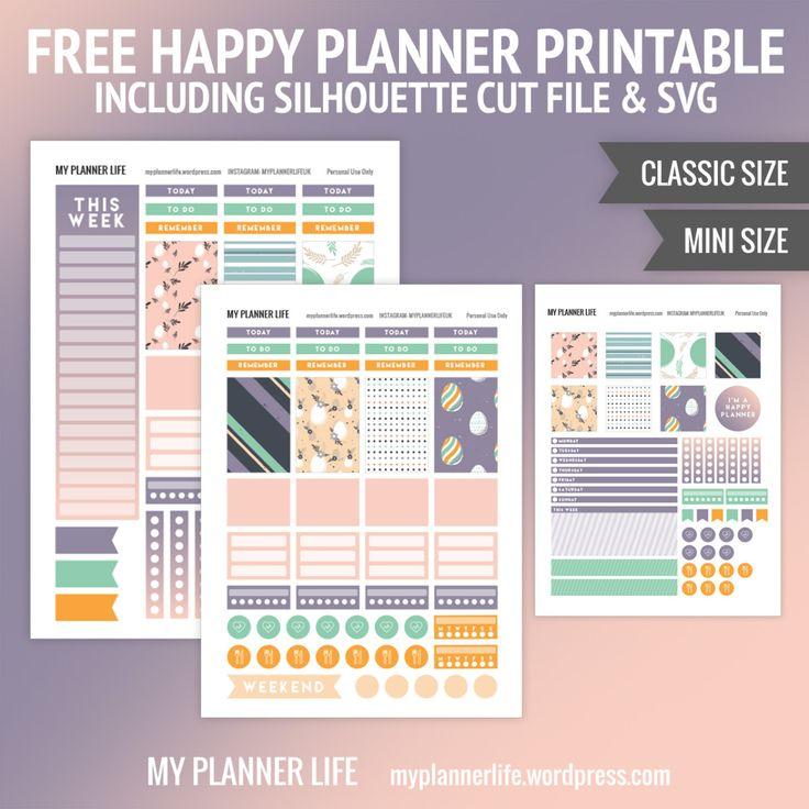 2851 best planner accessories images on pinterest happy for Happy planner accessories
