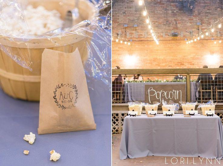 Fort Worth Wedding Venue   Artspace111   Lori Lynn Photography   Popcorn Bar #weddingideas #popcorn #bar #artspace111 #fortworthwedding