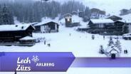 Webcam und Livebilder vom Skigebiet Lech und Zürs am Arlberg - Oberlech Burgplateau, 17.01.2013, -11,8 degrees,