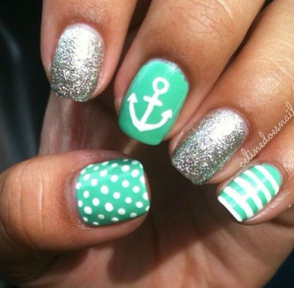 Verde menta marinero
