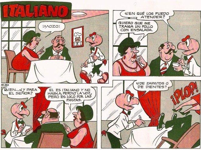 Que mejor que la comida italiana