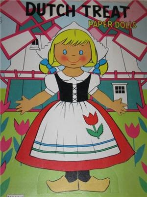 Dutch girl paper dolls