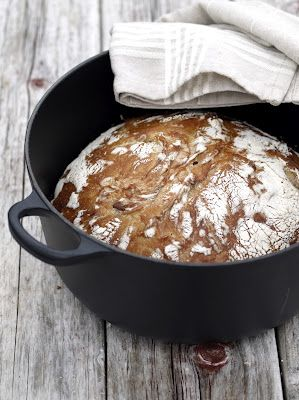 No knead brød eller eltefritt brød