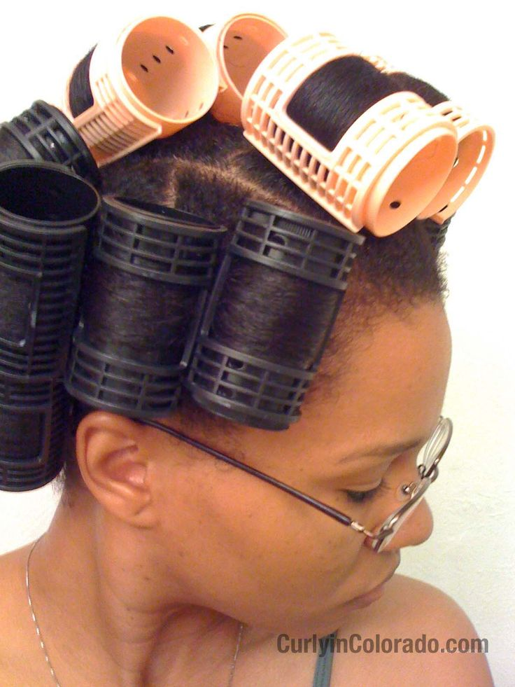 by Michelle of Curly in Colorado Roller setting any hair type is a tricky business.  Still, you can achieve smooth results using rollers on natural hair.  Once you get the technique down you can ge…