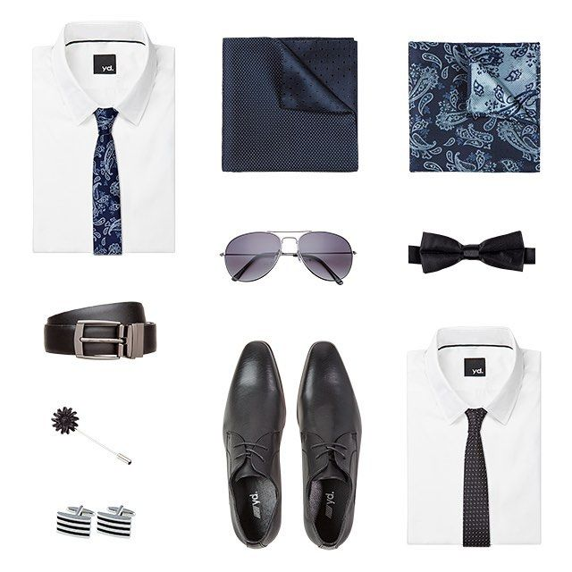Men's Accessories - Shoes, sunglasses, ties, belts, shirts, cuff links and hankies. theguideonline.com.au