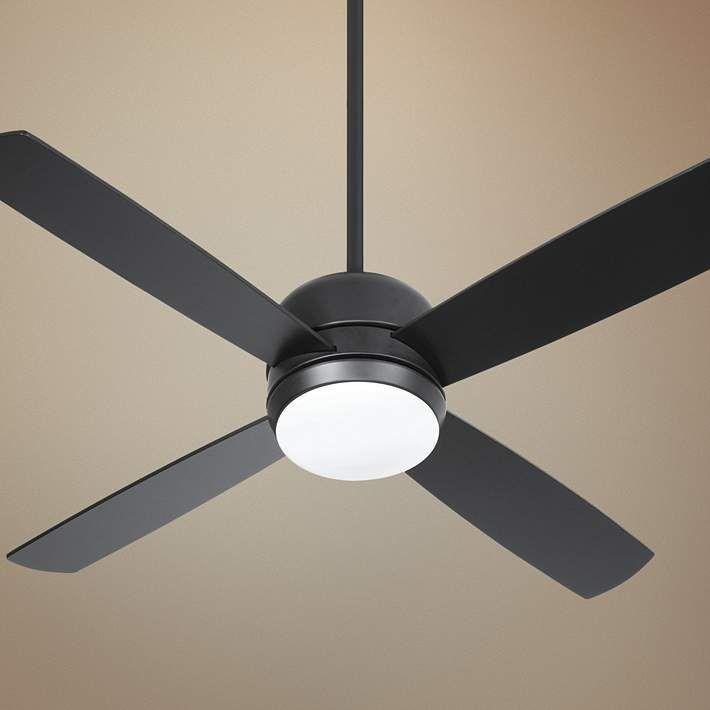44 Craftmade Montreal Flat Black Led Ceiling Fan 61f63 Lamps Plus In 2020 Black Ceiling Fan Modern Ceiling Fan Ceiling Fan