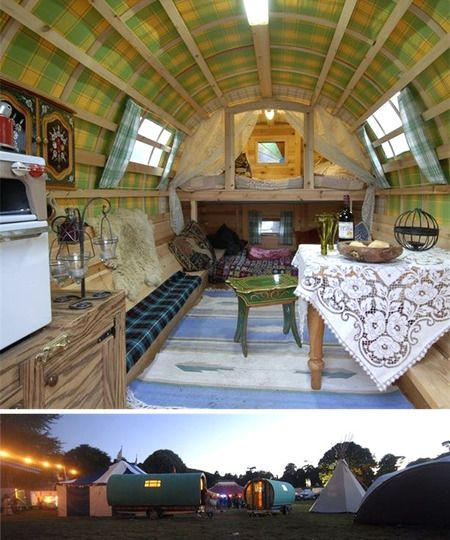 Trailers: Ideas, Tiny House, Campers, Dream, Interiors, Gypsy Wagons, Gypsy Caravans