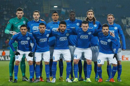 Футбольный клуб «Днепр» отстранен от еврокубков на один сезон