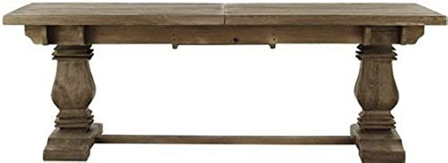 New Home Decorators Collection Aldridge Extendable Dining Table