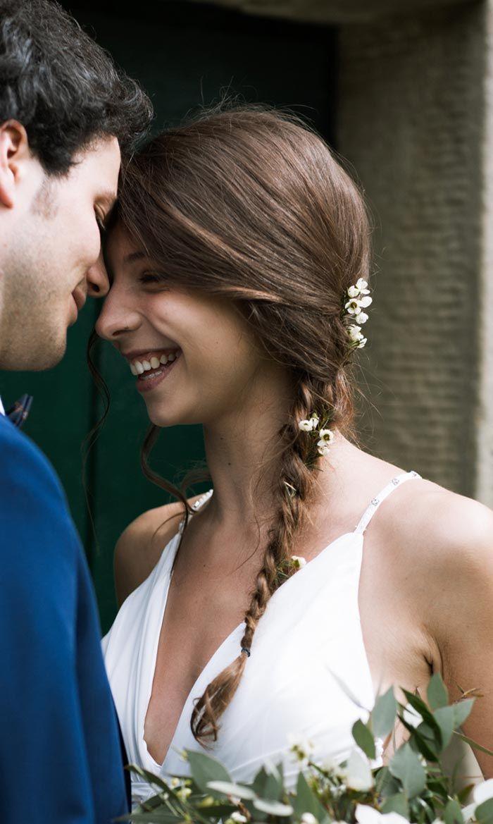 Hippie Hochzeit Frisur Noch Mehr Beispiele In Der Bildergalerie Brautfrisur Flechtfrisuren Braut Hochzeitsfrisuren