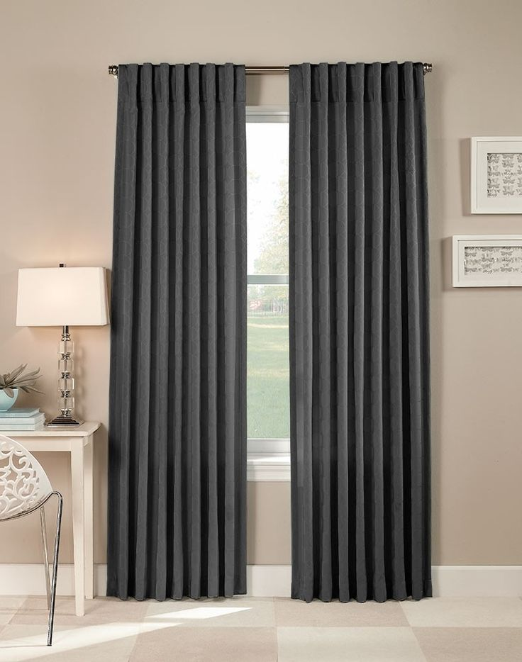 7 best images about living room dining room curtains on Contemporary drapes window treatments