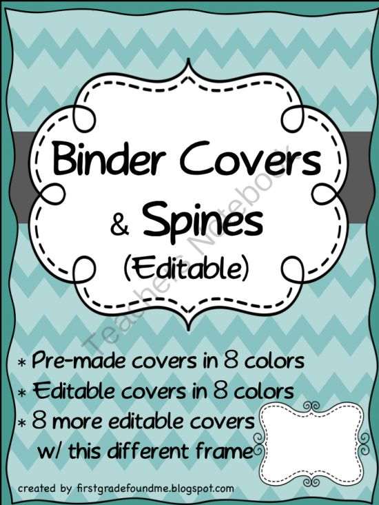 11 best Binders images on Pinterest Chevron binder covers