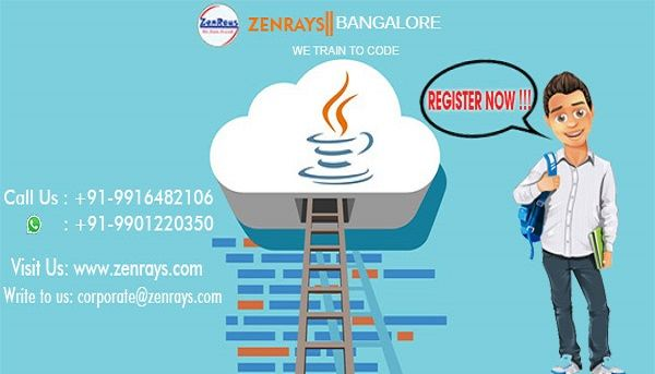 Best Java Training in Bangalore! We provide the best Java Training in Bangalore. Learn with Hands-on Training, work on Java Live Project in Bangalore. Classroom or Online Training in Bangalore.   Call +91 9916482106, WhatsApp +91 9901220350, Write to corporate@zenrays.com.   Check out course contents at http://zenrays.com/java-j2ee-training