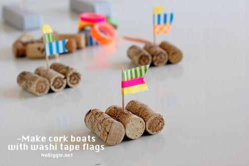 Wine cork boat races | Skip To My Lou