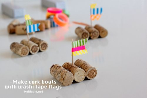 Wine cork boat races | Skip To My Lou