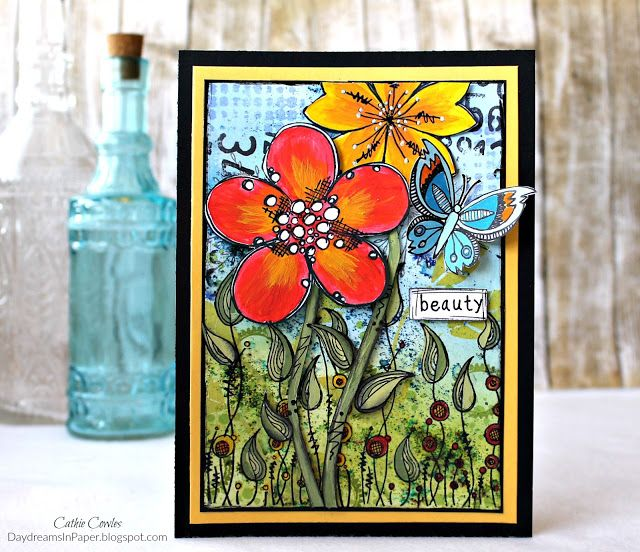 Daydreams In Paper: Simon Says Stamp Monday Challenge - The Great Outdoors Featuring PaperArtsy Products