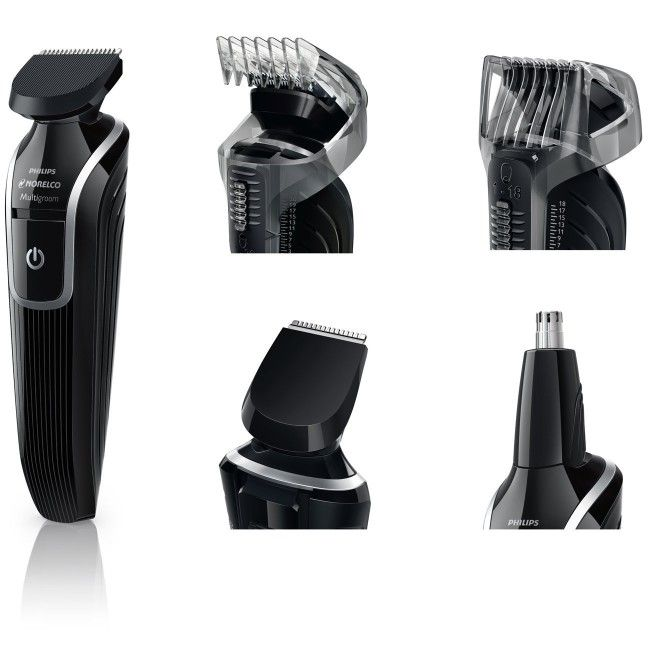 In Stock-$16.95 - For a perfect shaving and styling, get the flexibility and power to create the look you would like to have with the Philips Norelco Multigroom 3100 All in one Grooming Kit. For more information go to http://www.philipsnorelcomultigroom.com/product/philips-norelco-multigroom-3100-all-in-one-grooming-kit/. #philipsnorelcomultigroom3100