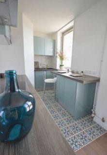 Zening life: 123 - Blue tile kitchens – Cozinhas de azulejos azuis