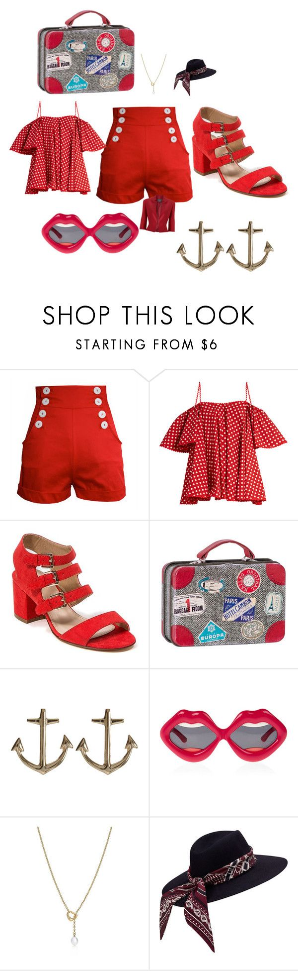 """Untitled #5641"" by brittklein ❤ liked on Polyvore featuring Tara Starlet, Anna October, French Blu, Maileg, Minor Obsessions, Linda Farrow, Tiffany & Co. and Phase Eight"