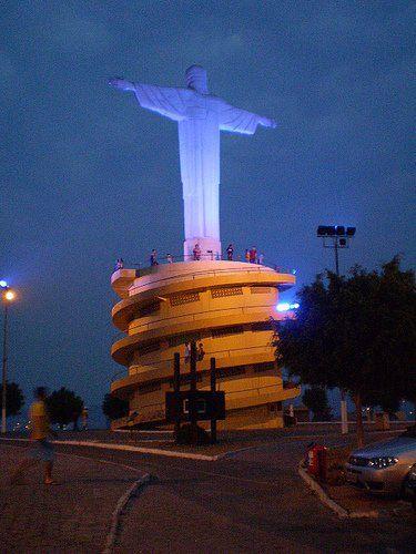 Praça do Cristo - Conselheiro Lafaiete - Minas Gerais (Minha Cidade Natal)