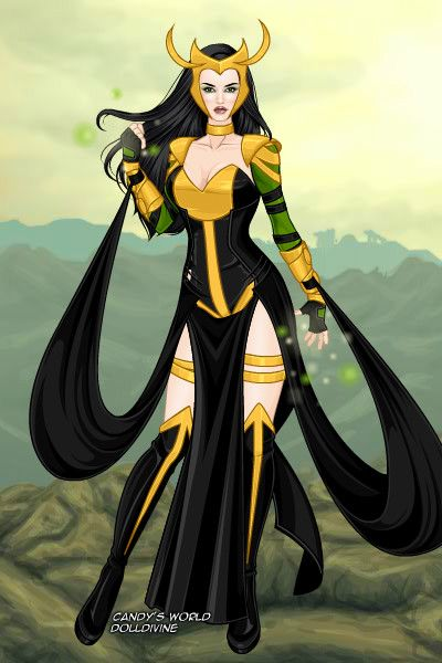 Lady Loki- X men Version game by neniths.deviantart.com on @DeviantArt