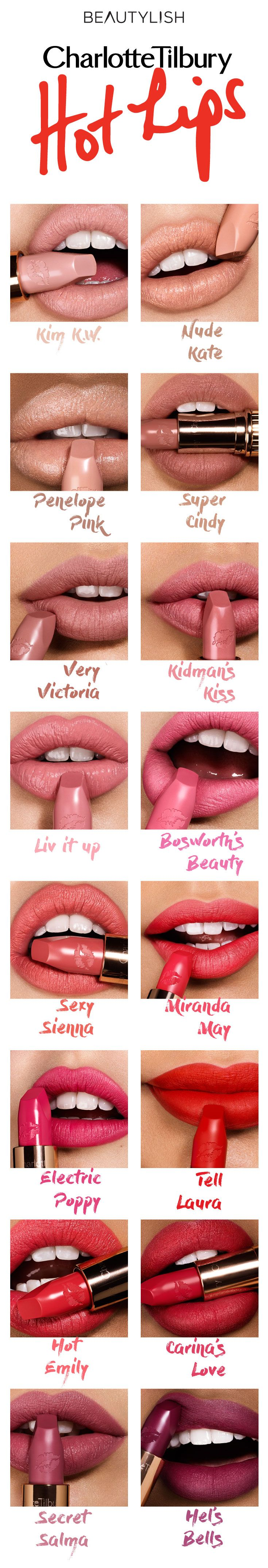 Which shade of Hot Lips are you?