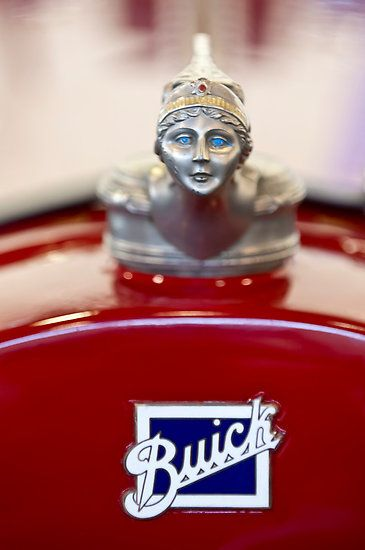 "1928 Buick Custom Speedster ""Goddess"" Hood Ornament"