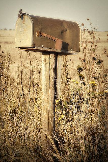 country mailbox...